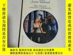 二手書博民逛書店Sara罕見wood the italian count s c
