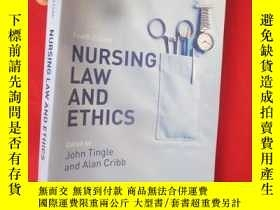 二手書博民逛書店Nursing罕見Law and Ethics (16開) 【詳
