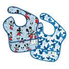 [寶媽咪親子館]  Bumkins Super Bib 防水防臭圍兜口水巾兩件組 (S2-DMK1) 迪士尼米奇