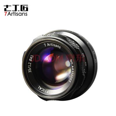 限時免運 七工匠 35mm F1.2 for Sony E mount 黑色 微單鏡頭