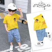 男童套裝兒童夏季衣服短袖潮流穿搭【聚寶屋】