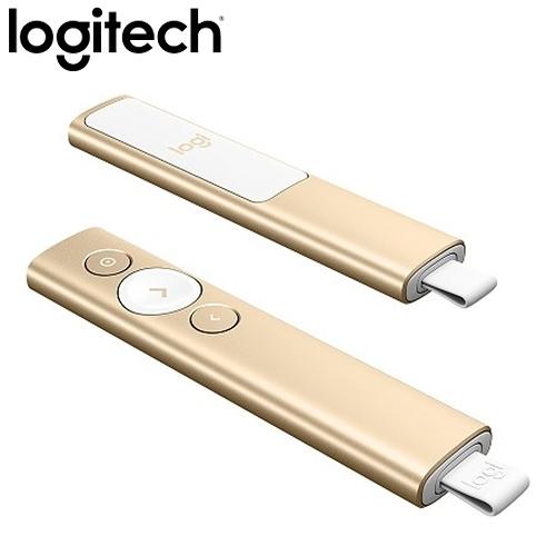 Logitech 羅技 Spotlight 簡報遙控器 香檳金