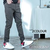 超彈力牛仔褲【OBIYUAN】素面 多口袋 單寧工作褲 韓版長褲 共2色【SP0011】