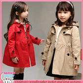秋冬英倫時尚造型風衣外套 兩色