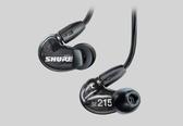 【台中平價鋪】全新 SHURE SE215K 黑色 可換線 隔音 耳道耳機 公司貨