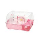 寵物家族-LillipHut 麗利寶- 透明鼠籠 女大宿舍(粉紅色)