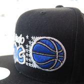 【iSport愛運動】M&N ORLANDO MAG WOOL SOLID 棒球帽 MN9AHA03OM 黑藍