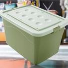 收納箱 加厚特大號收納箱家用塑料衣服儲物盒大號箱子盒子搬家整理箱TW【快速出貨八折下殺】