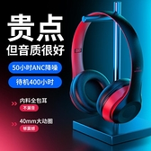 無線耳機頭戴式適用于手機聽歌音樂電競游戲專用耳麥男女運動跑步重低音全包降噪超長續航臺式