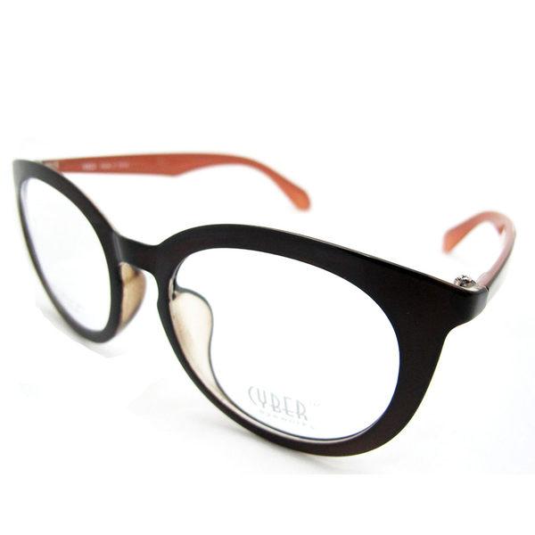 韓國復古大框眼鏡,文青經典款鏡架,時尚有型,素色好搭,男女款-棕色