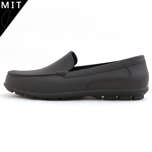 男款 彈性柔軟加厚鞋墊 防臭抗菌止滑 雨天休閒皮鞋 雨鞋 MIT製造 59鞋廊