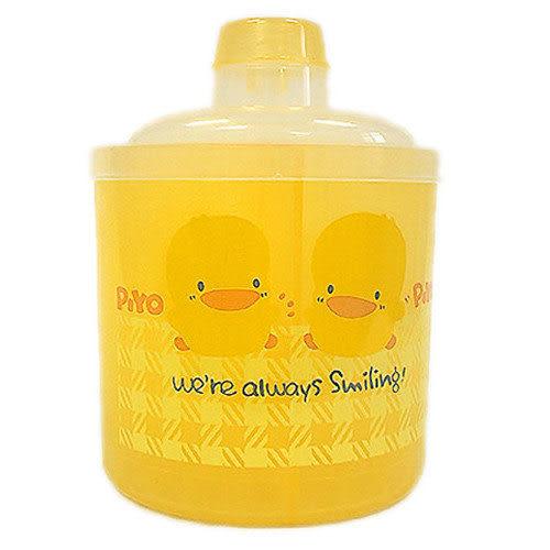【奇買親子購物網】黃色小鴨半透明四層奶粉罐(大)