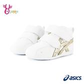 ASICS童鞋 寶寶鞋 男女學步鞋 FABRE FIRST SL 3 嬰兒鞋 機能鞋 高筒護踝 足弓鞋墊 跑步鞋 B9198#白色