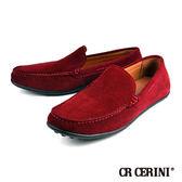 【CR CERINI】簡約雅痞帆船鞋 紅色(83130-REDS)