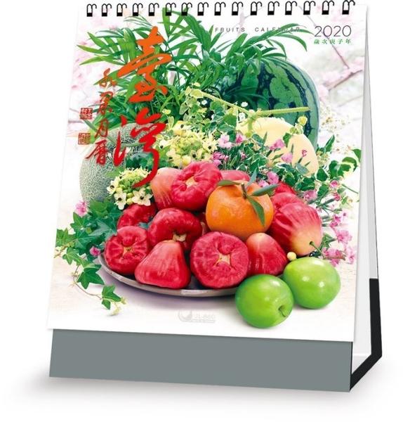 2020 桌曆 JL860 台灣水果(直式*15張 ~天堂鳥月曆