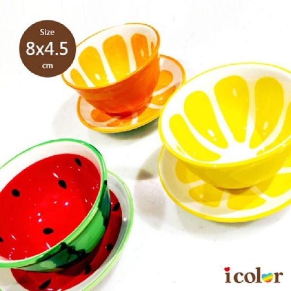 i color 趣味迷你水果陶碗