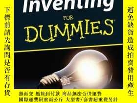二手書博民逛書店Inventing罕見For DummiesY410016 Pamela Riddle Bir... ISB