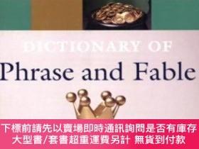 二手書博民逛書店Oxford罕見Dictionary Of Phrase And FableY255174 Knowles,