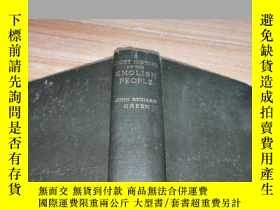 二手書博民逛書店A罕見SHORT HISTORY OF THE ENGLISH