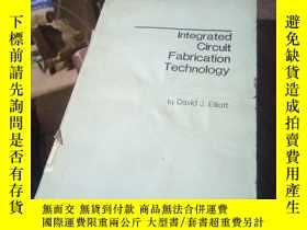 二手書博民逛書店Integrated罕見Circuit Fabrication