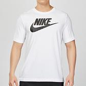 Nike ICON 男子 白色 經典 基本款 棉質短袖 休閒 T恤 AR5005-101