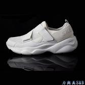 【輕量鞋身】SKECHERS 女休閒運動鞋 魔鬼氈設計可調整腳背鬆緊 DLITES AIRY 正白色鞋面  【1559】