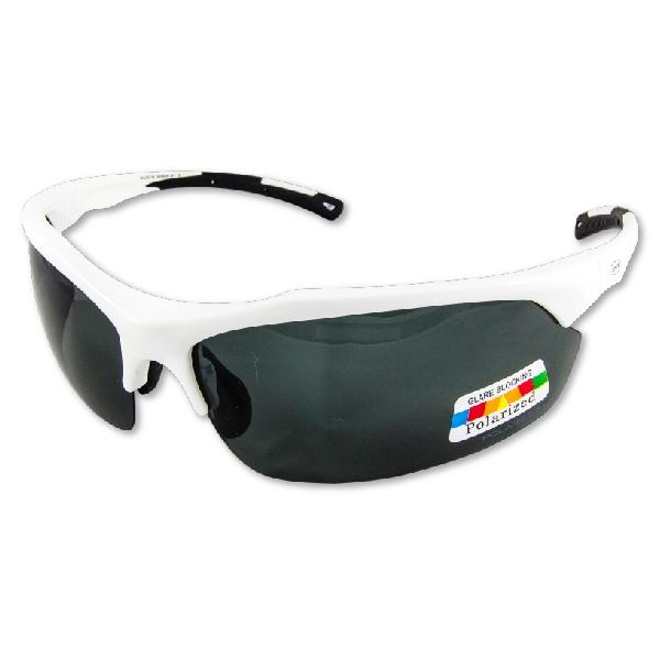 APEX J91偏光眼鏡-白 (可加裝近視內框) 戶外 自行車 跑步