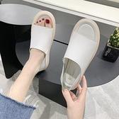 新品韓式軟底舒適平底魚嘴兩穿女夏簡約韓式百搭防滑孕婦涼鞋 - 風尚3C