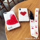 簡約白色貝殼愛心 蘋果x手機殼iPhon...
