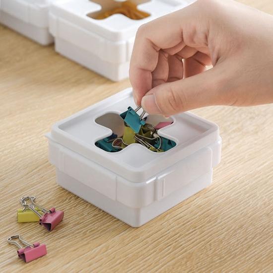 紙巾盒 面紙盒 收納盒 大方 抽取式收納盒 整理盒 抽屜收納 十字抽取收納盒【P048】生活家精品