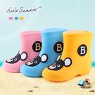 兒童BB熊卡通雨靴...