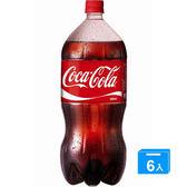 可口可樂保特瓶2L*6瓶(箱)【愛買】