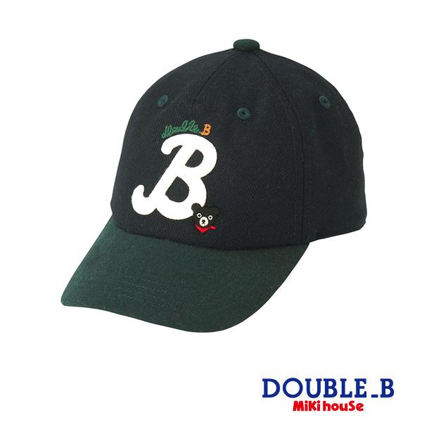 DOUBLE_B 黑熊休閒棒球帽(藏藍)