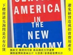 二手書博民逛書店Service罕見America in the New Econ