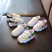 女童2018新款鞋春季1-7歲公主韓版發光兒童寶寶運動鞋 LQ2358『夢幻家居』