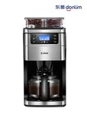 220v咖啡機家用小型全自動美式咖啡機現磨鮮煮咖啡壺研ZDX