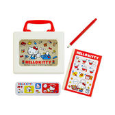 《Sanrio》HELLO KITTY復古設計迷你文具組附提盒(文具小物)★funbox生活用品★_504629