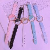 手錶 森系女生手錶女學生韓版簡約潮流休閒百搭小清新可愛軟妹