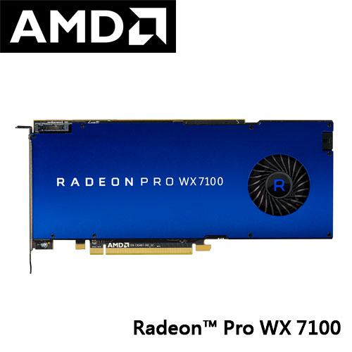 AMD RADEON PRO WX7100 工作站 顯示卡