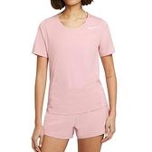 Nike AS W City Sleek Top SS 女 粉 運動 慢跑 訓練 短袖 CJ9445-630