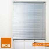 特力屋 鋁百葉窗 銀色 寬120x高185cm