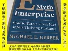 二手書博民逛書店The罕見E-Myth Enterprise: How to Turn A Great Idea Into a T