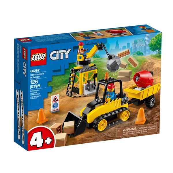 60252【LEGO 樂高積木】City 城市系列- 工程推土機 (126pcs)