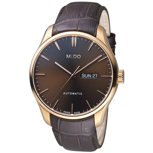 MIDO美度錶 Belluna Gent系列時尚紳士腕錶 M0246303629100