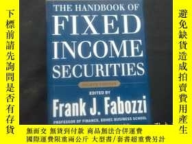 二手書博民逛書店THE罕見HANDBOOK OF FIXED INCOME SECURITIESY210251 Steven