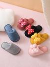 兒童棉拖鞋女童秋冬季寶寶親子室內家用防滑小童公主可愛毛拖家居 交換禮物