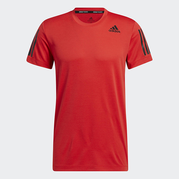 Adidas HEAT.RDY WARRIOR TEE 男裝 短袖 訓練 透氣 修身 紅【運動世界】H11108
