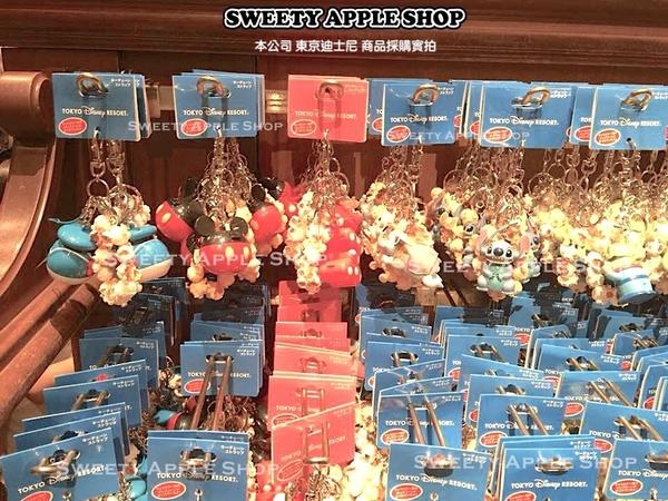 (現貨&樂園實拍)  東京迪士尼 米妮 迷你爆米花桶造型 鑰匙圈吊飾