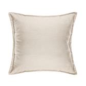 HOLA 新素色織紋抱枕50x50cm 米色