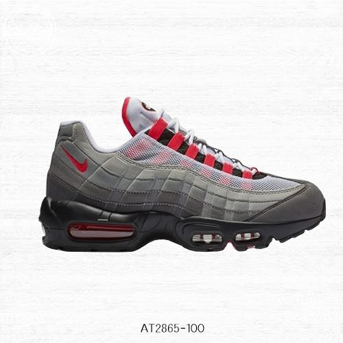 【現貨折卷後3712】NIKE AIR MAX 95 OG Solar Red 紅黑 復古慢跑鞋 氣墊 休閒鞋 男鞋 運動鞋 AT2865-100